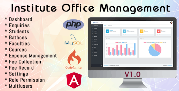 IOMS Institute Office Management System - CodeCanyon Item for Sale