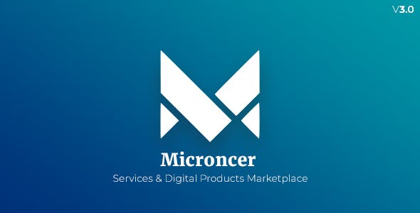 Microncer - Services and Digital Products Marketplace