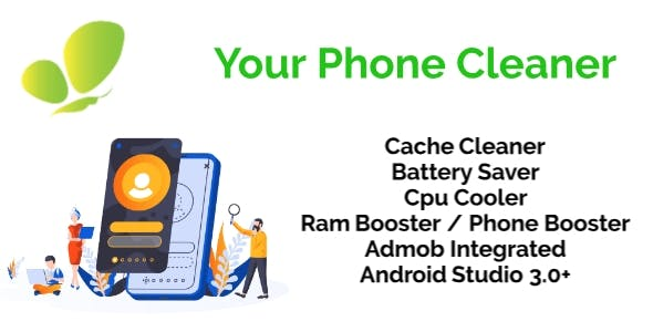 50X Phone Cleaner, Ram Booster, CPU Cooler, Battery Saver And Junk cleaner & Admob Ads Integrated