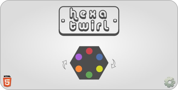 hexaTwirl - HTML5 Casual Game - CodeCanyon Item for Sale
