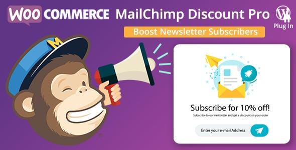WooCommerce MailChimp Discount PRO