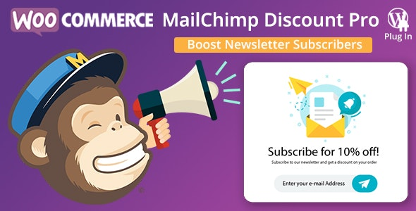 WooCommerce MailChimp Discount PRO - CodeCanyon Item for Sale