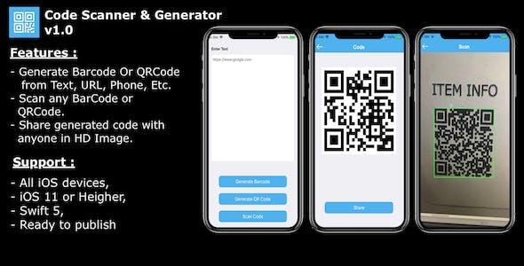 Code Scanner & Generator
