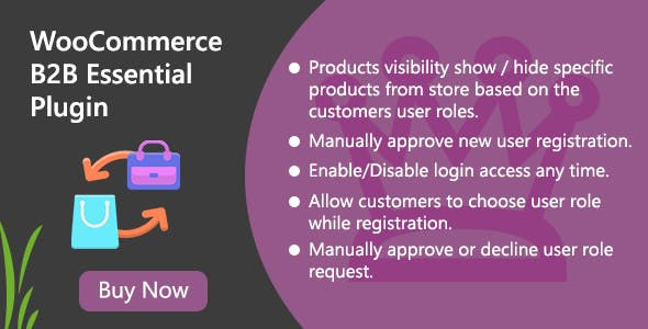 WooCommerce B2B Essential Plugin