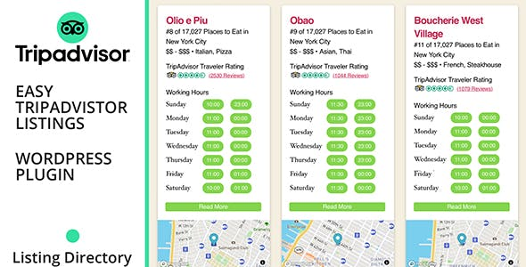 Easy TripAdvisor Listings