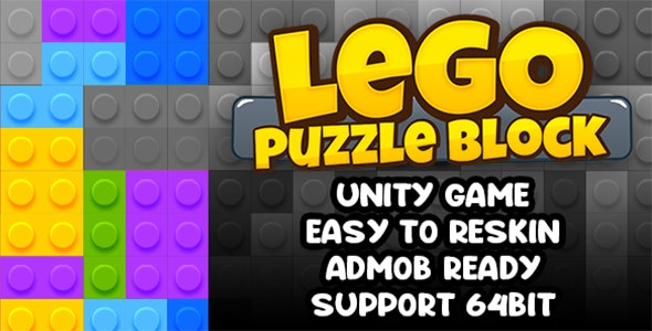 Lego Puzzle Block Game Unity Template - CodeCanyon Item for Sale