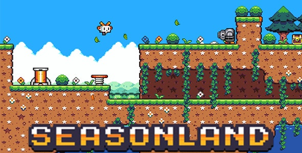 SeasonLand - Platformer Game - CodeCanyon Item for Sale