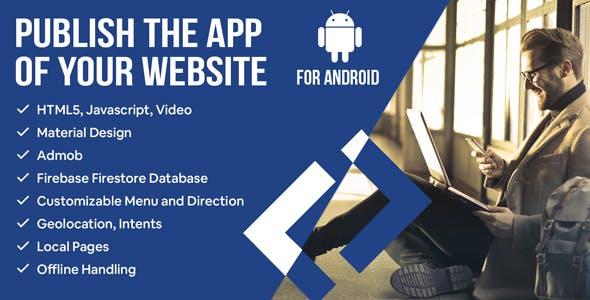Modern Web To App