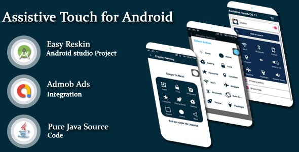 Assistive Touch for Android & Toucher pro - CodeCanyon Item for Sale