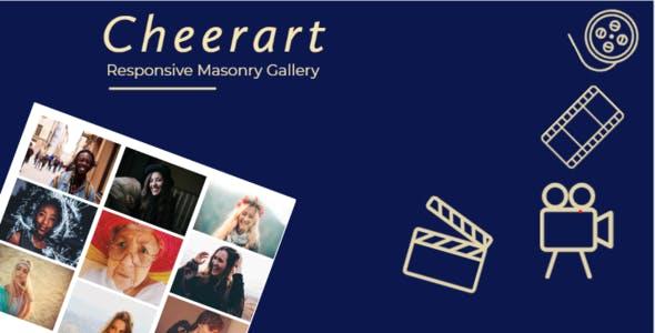 Cheerart - Responsive Masonry Gallery