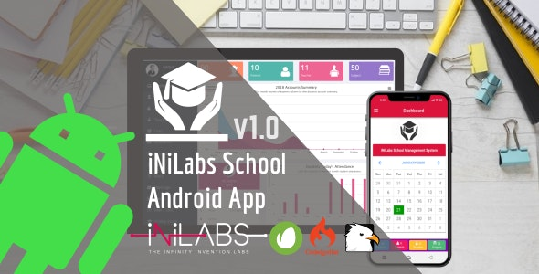iNiLabs School Android App - Ionic Mobile Application - CodeCanyon Item for Sale