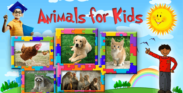 Animal Sounds Educational Learning Android App