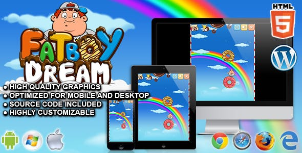 FatBoy Dream - HTML5 Skill Game