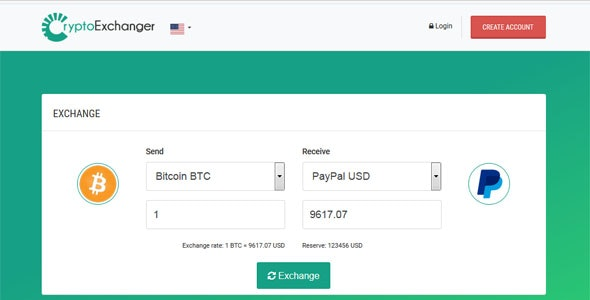CryptoExchanger - Advanced E-Currency Exchanger, Converter and Investments - CodeCanyon Item for Sale