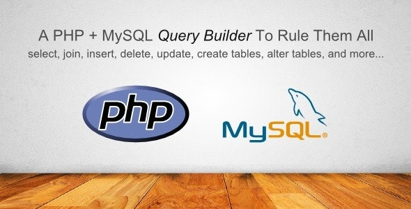 PHP MySQL Helper Library - CodeCanyon Item for Sale