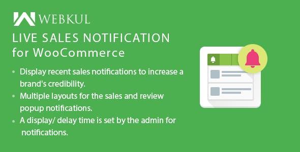 WooCommerce Live Sales Notification