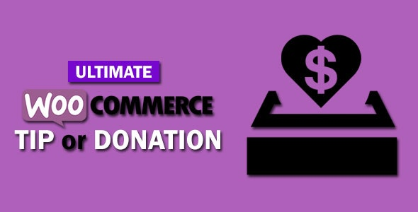 Ultimate WooCommerce Tip or Donation - CodeCanyon Item for Sale