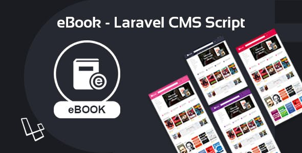 eBook - Laravel CMS Script