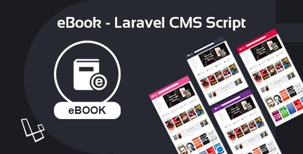 eBook - Laravel CMS Script - CodeCanyon Item for Sale