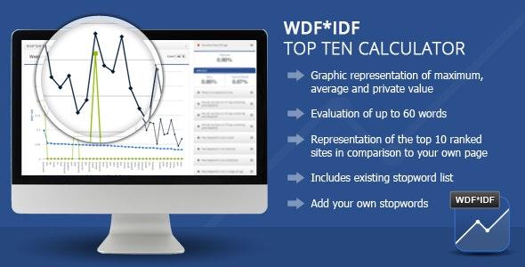 Wordpress WDF*IDF SEO Calculator - CodeCanyon Item for Sale