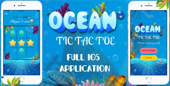 'Ocean Tic Tac Toe' - Full iOS Application - CodeCanyon Item for Sale