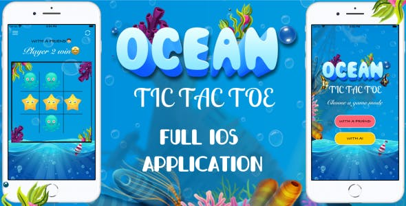 'Ocean Tic Tac Toe' - Full iOS Application