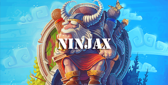 ninjax – Game and Blog / Game Download script Theme