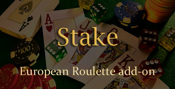 European Roulette Add-on for Stake Casino Gaming Platform