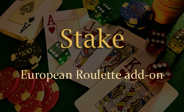 European Roulette Add-on for Stake Casino Gaming Platform - CodeCanyon Item for Sale