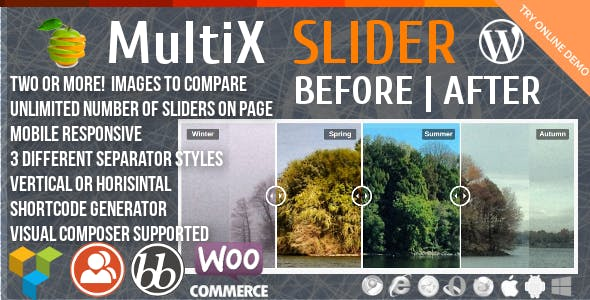 Before-After MultiX Slider