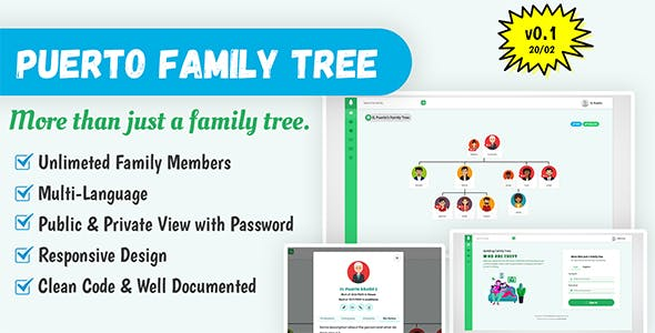 Puerto Family Tree Script