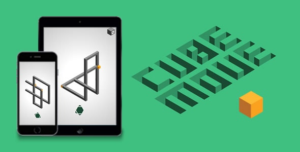Cube Move - HTML5 Game - CodeCanyon Item for Sale