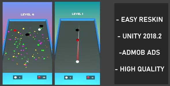 Color Shoot Ball - ( Unity - Admob)