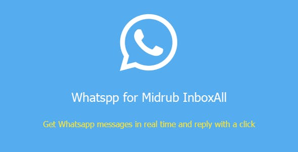 Whatsapp for Midrub InboxAll