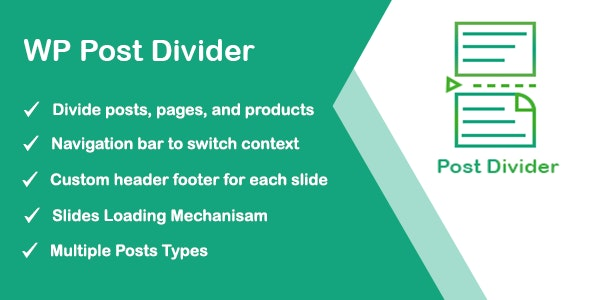 WP Post Divider - CodeCanyon Item for Sale