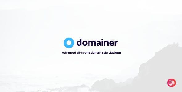 Domainer | Advanced domain sale platform