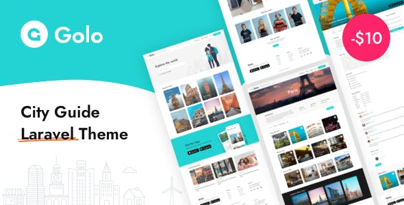 Golo - City Guide Laravel Theme
