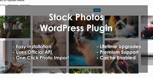 Stock Photos - WordPress Plugin - CodeCanyon Item for Sale