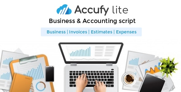 Accufy Lite - Business & Accounting Software - CodeCanyon Item for Sale
