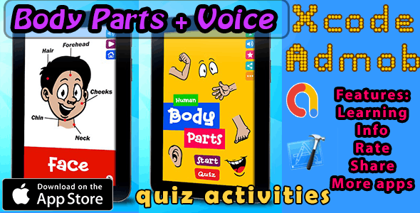 Learning Human Body Parts + Voice  iOS11 and Swift 3