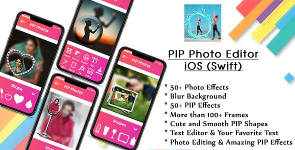 PIP Camera Editor IOS (Swift)