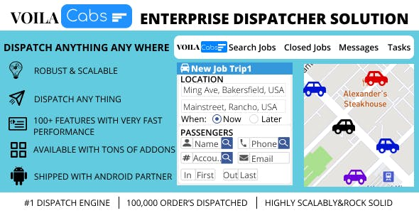 Voila Dispatch Engine - An Enterprise Dispatcher Solution