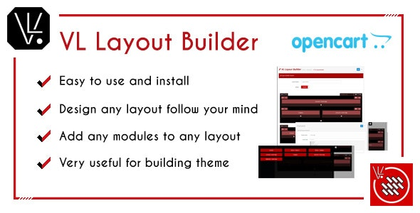 VL Layout Builder - Drag and Drop OpenCart 3 module - CodeCanyon Item for Sale