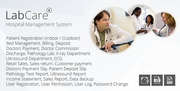 LabCare - Hospital Management System (Billing, Pathology, Ultrasound, ECG, Retail) - CodeCanyon Item for Sale