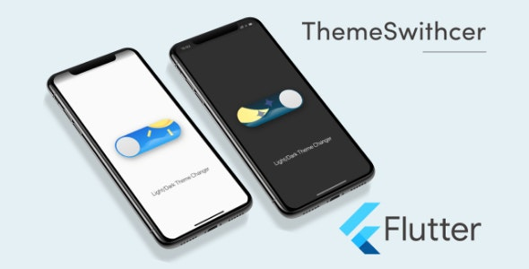 Flutter ThemeSwitcher Template in Flutter - CodeCanyon Item for Sale