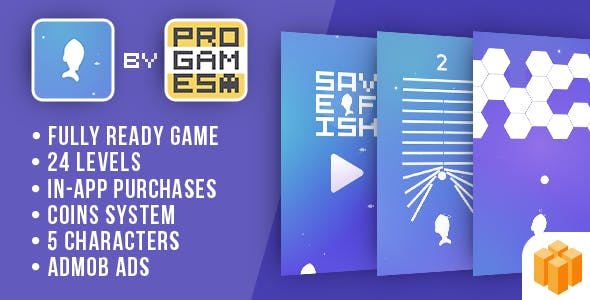 Save Fish (Rise UP) - Buildbox - Android game
