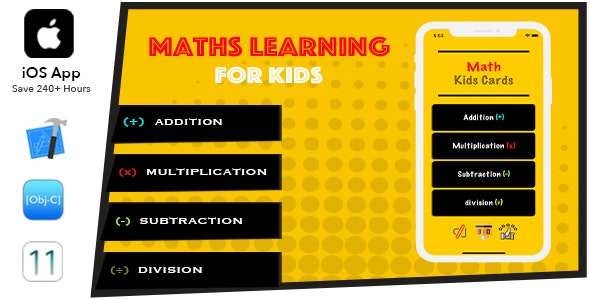 Math Learner For Kids (OBJ C) - CodeCanyon Item for Sale