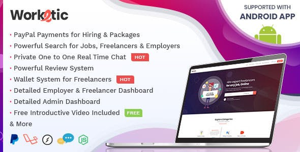 Worketic - Marketplace for Freelancers