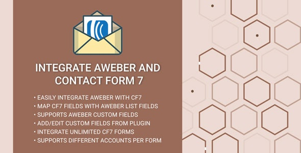 Integrate AWeber and Contact Form 7 - CodeCanyon Item for Sale
