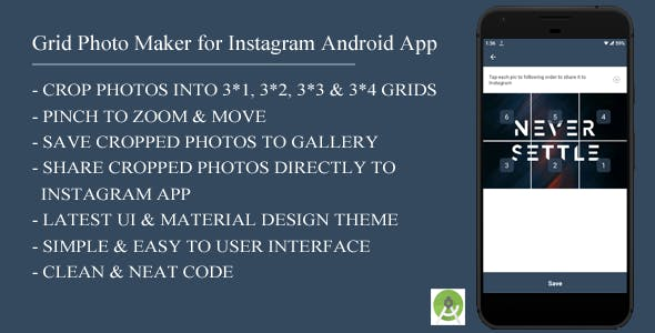 Grid Photo Maker for Instagram Android App